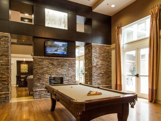 Host a party or relax with friends in our Billiard's Room, at Windsor at Brookhaven, 305 Brookhaven Ave., Atlanta, GA