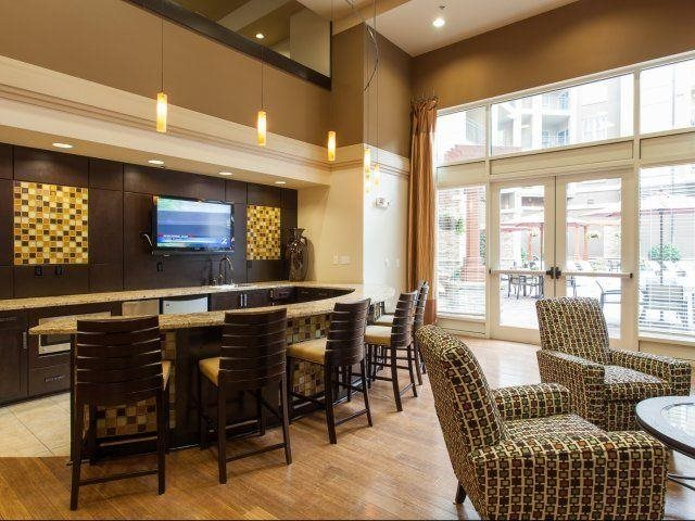 Clubroom available for private events or to enjoy your favorite cup of coffee, at Windsor at Brookhaven, 305 Brookhaven Ave., GA