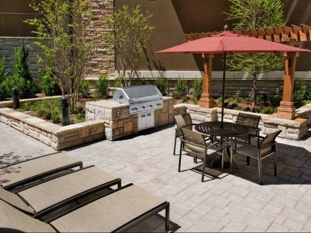 Grill out by the pool, at Windsor at Brookhaven, 305 Brookhaven Ave., Atlanta, 30319