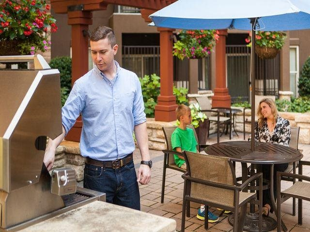 Enjoy outdoor dinners with family and friends, at Windsor at Brookhaven, 305 Brookhaven Ave., GA
