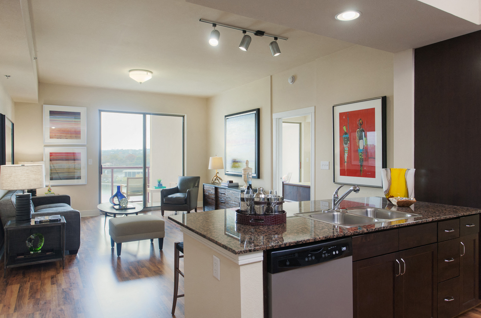 Beautiful Gourmet Kitchens With Dishwasher And Disposal At Windsor On The Lake, Austin,  TX 78701