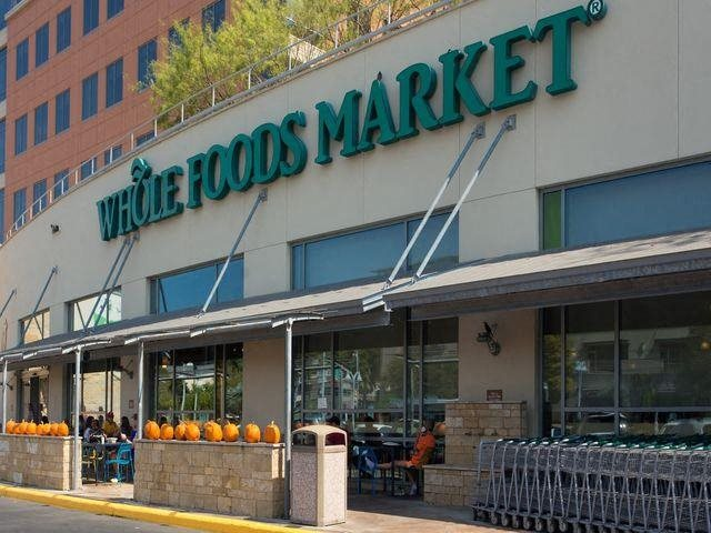 Shop at Whole Foods Market's flagship location in downtown