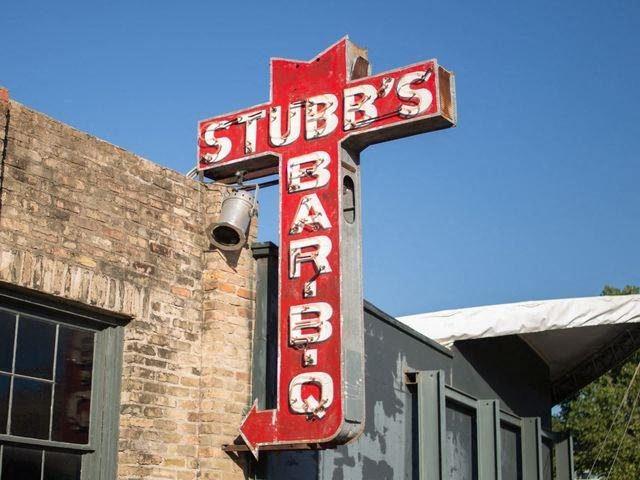Take in a concert and BBQ at Stubb's at Windsor on the Lake, 43 Rainey Street, Austin, TX 78701