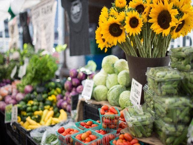 The Downtown Farmer's Market is open every Saturday at Windsor on the Lake, TX 78701
