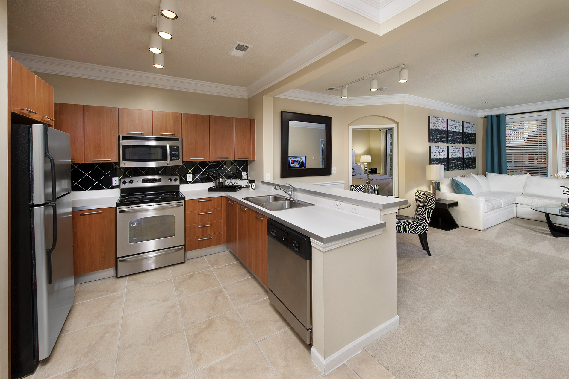 Fully Equipped Kitchen At Windsor At Contee Crossing 7810 Contee Road Laurel