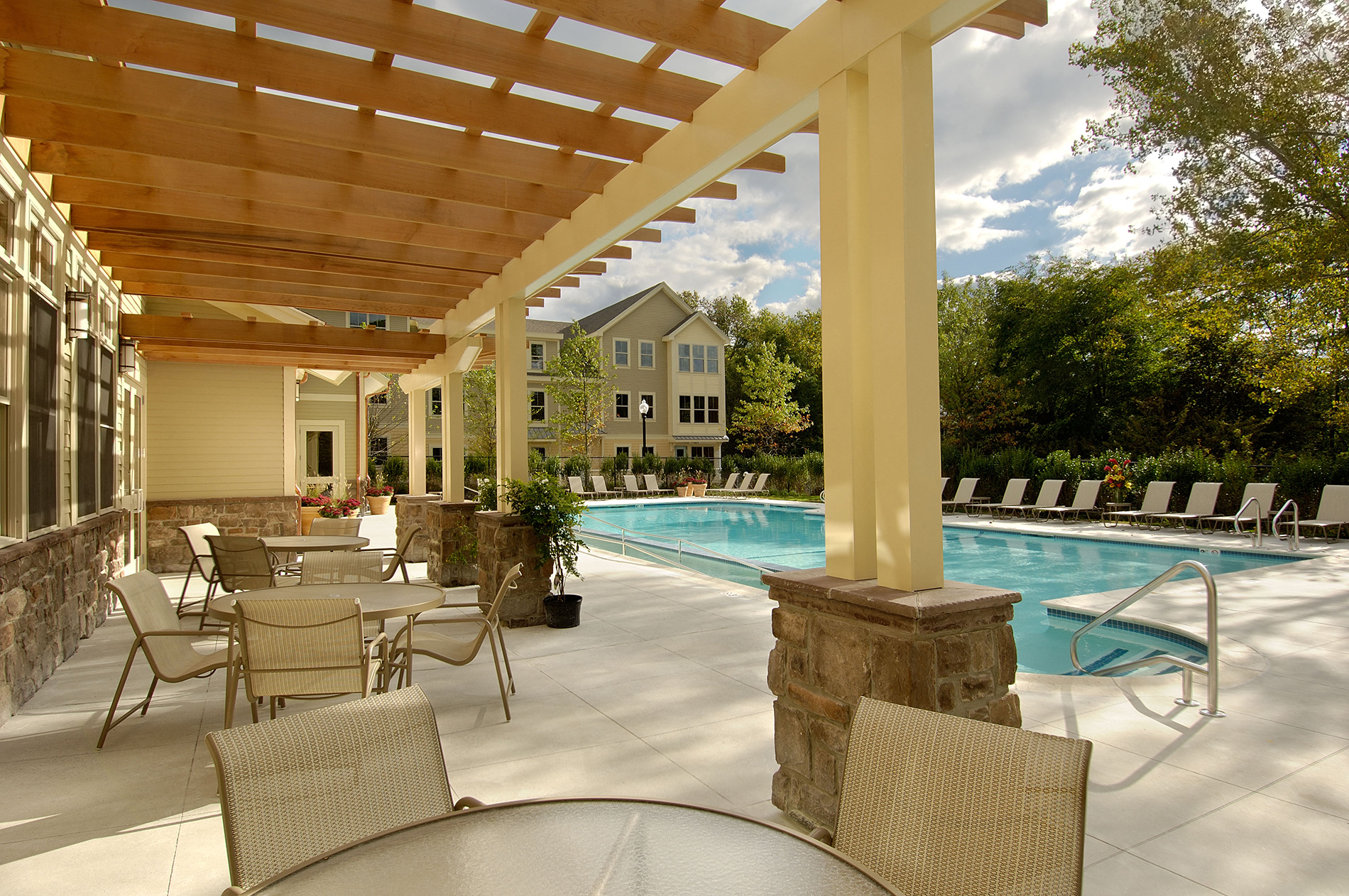Seasonal Beautiful Outdoor Swimming Pool At Windsor At Oak Grove, 2 Island  Hill Ave.