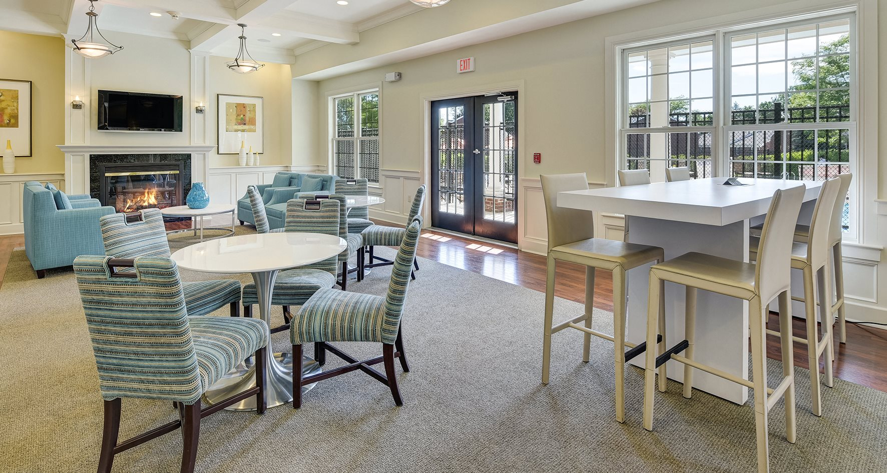 Newly Renovated Clubhouse At Windsor Ridge Westborough 1 Drive