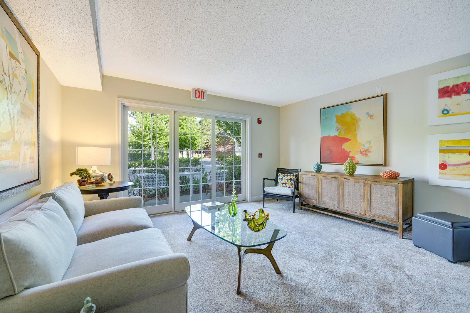 Stunning Indoor and Outdoor Living Space at Windsor Ridge at Westborough, Westborough, Massachusetts
