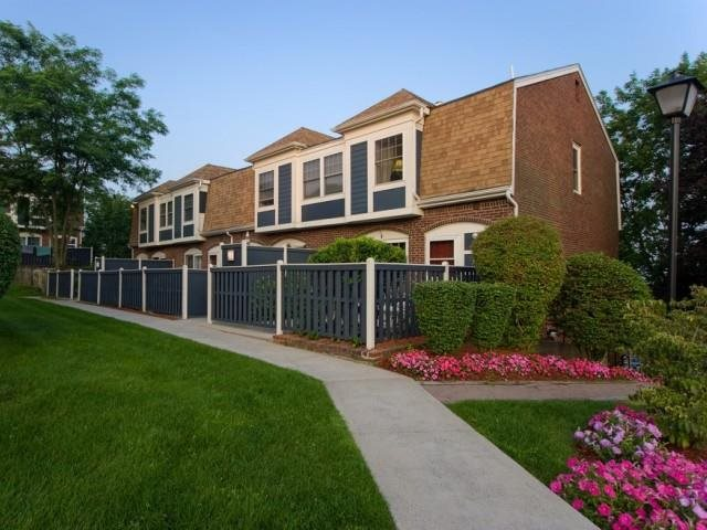 Enjoy townhome style living with private entrances