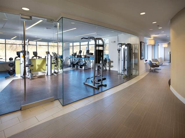 Gym at Vox on Two Cambridge MA Apartments