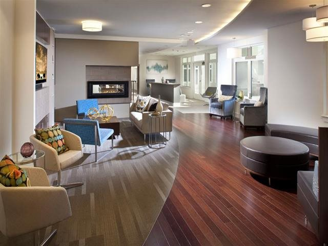 Clubroom at Vox on Two Luxury Apartments in Cambridge MA