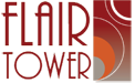 Flair Tower Logo, Chicago