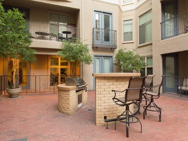 Grill out with family and friends  At Trianon by Windsor,2820 McKinnon Street, Dallas, TX
