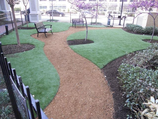 Pets love our urban pet park At Trianon by Windsor,2820 McKinnon Street, Dallas