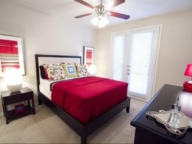 This master suite in our two bedroom model home is a dream  At Trianon by Windsor,2820 McKinnon Street, Dallas, TX