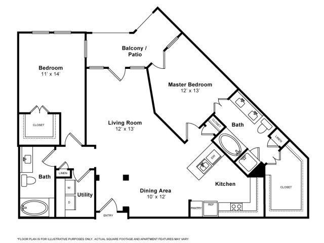 Querencia Floorplan at The Monterey by Windsor