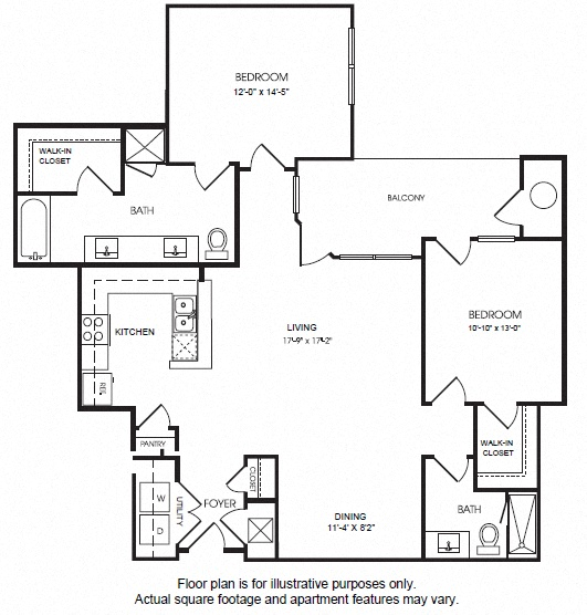 The Manhattan Studio 1 2 And 4 Bedroom Apartments Floor Plans