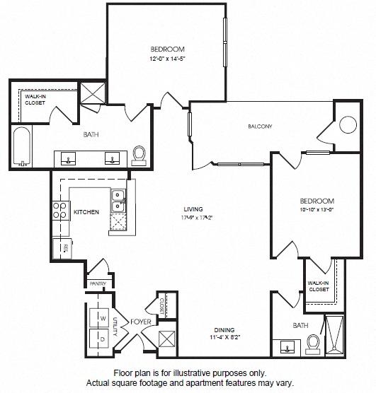 Studio, 1, 2 And 4 Bedroom Apartments