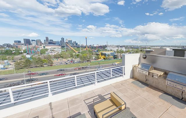Enjoy some sunshine on the roof top deck while taking in the breathtaking views