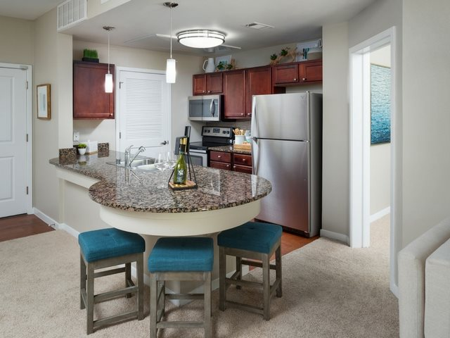 Impress your guests as they gather around your kitchen at The District