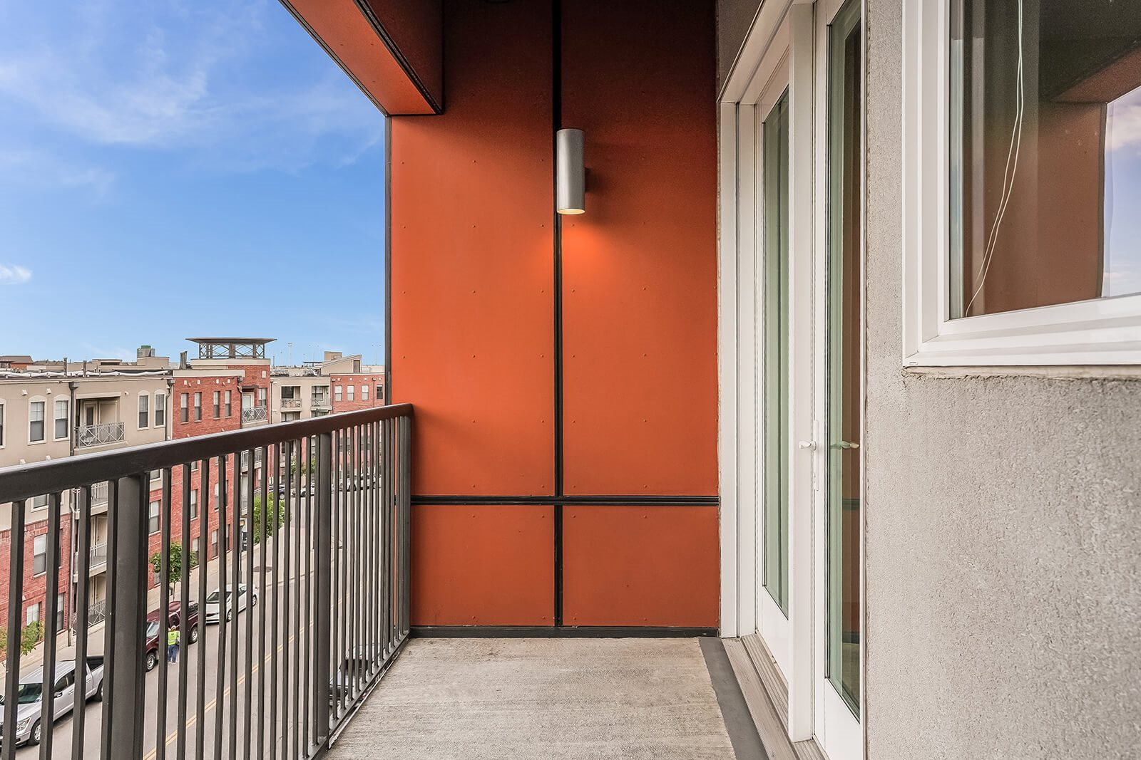Private Balcony or Terrace with Select Apartments at The Casey, 80202, CO