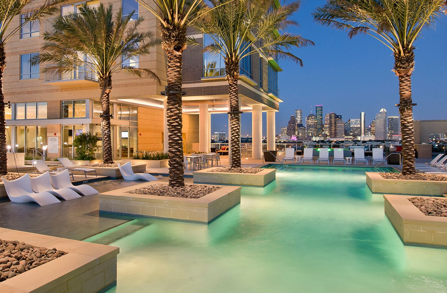 Resort Style Community at The Sovereign at Regent Square, 3233 West Dallas,  Houston,