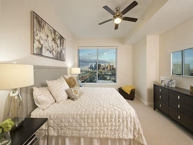 Spacious bedrooms with amazing views, at The Sovereign at Regent Square, 3233 West Dallas, Houston, 77019