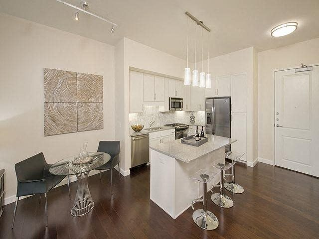 Spacious, open layouts, at The Sovereign at Regent Square, 3233 West Dallas, Houston, 77019