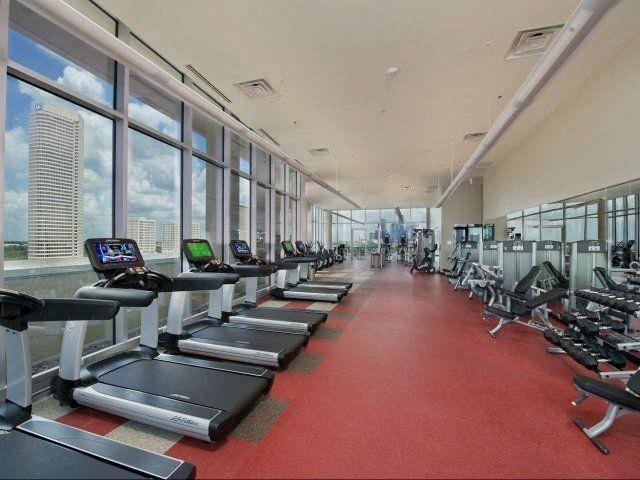 24-hour State-of-the-Art Fitness Center, at The Sovereign at Regent Square, TX 77019