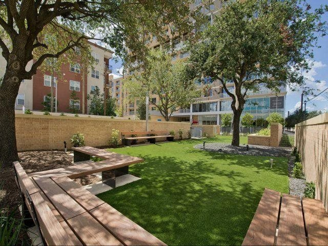 Dog Park, at The Sovereign at Regent Square, 3233 West Dallas, Houston