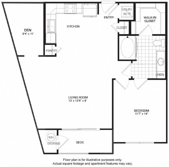 Floorplan At Domain by Windsor,1755 Crescent Plaza, TX 77077