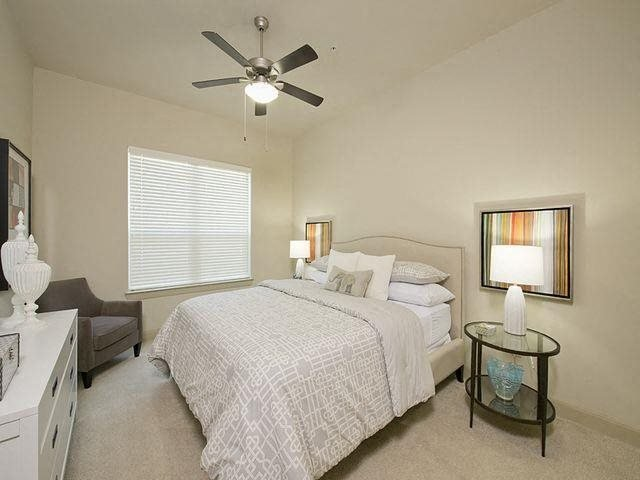At Domain by Windsor,1755 Crescent Plaza, TX 77077 Master suite fit for a king-sized bed