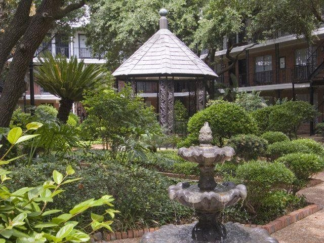 Relax in our gazebo At Allen House Apartments, Houston, TX 77019