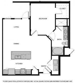 Floorplan At South Park by Windsor, Los Angeles, CA, 90015