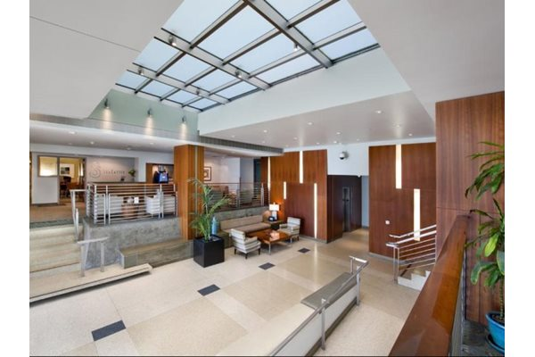 Renovated Resident Lobby at Sea Castle, 1725 Ocean Front Walk, Santa Monica, CA 90401