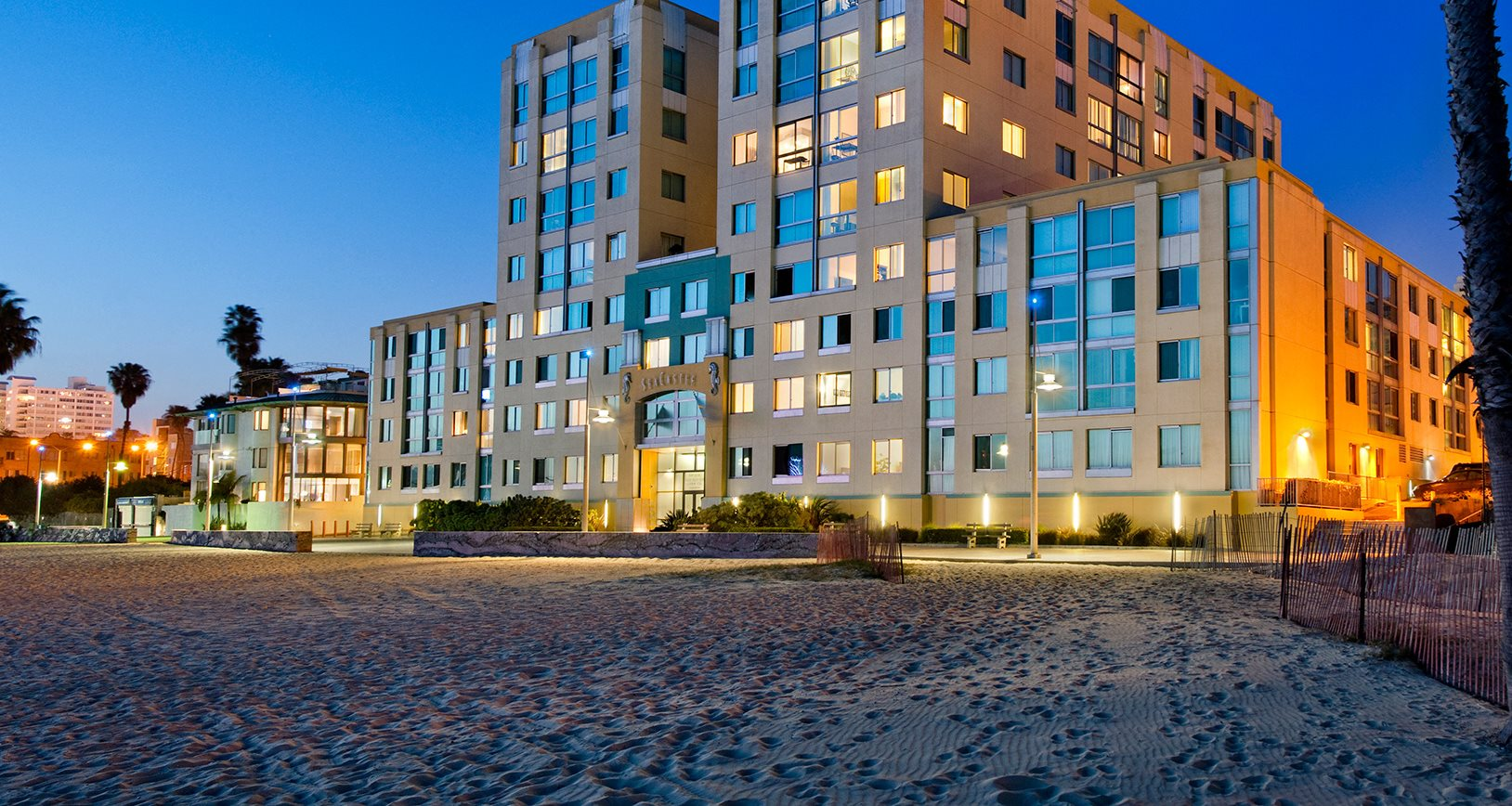Sea Castle, Santa Monica, is a Resort Style Community