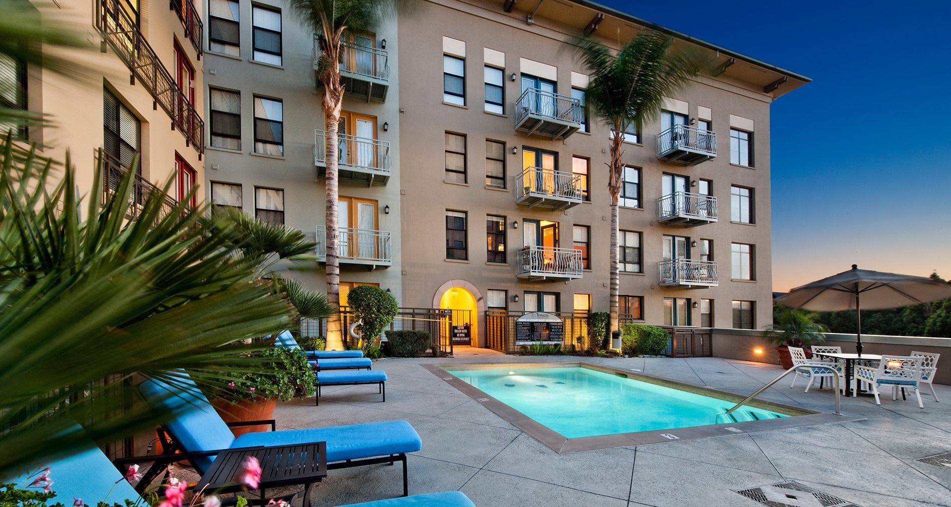 Terraces At Paseo Colorado Pasadena Luxury Apartments Home