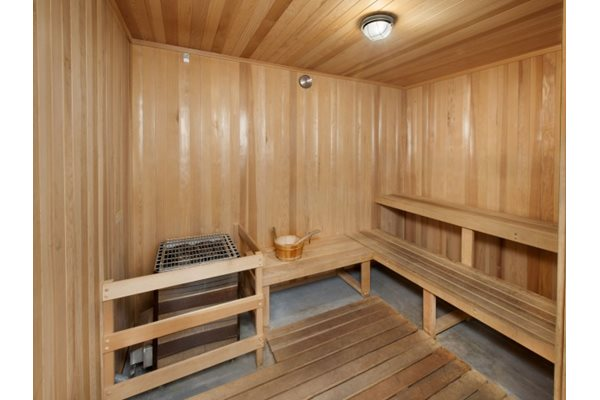 Dry Sauna and Steam Room At 5550 Wilshire at Miracle Mile by Windsor, Los Angeles, CA, 90036