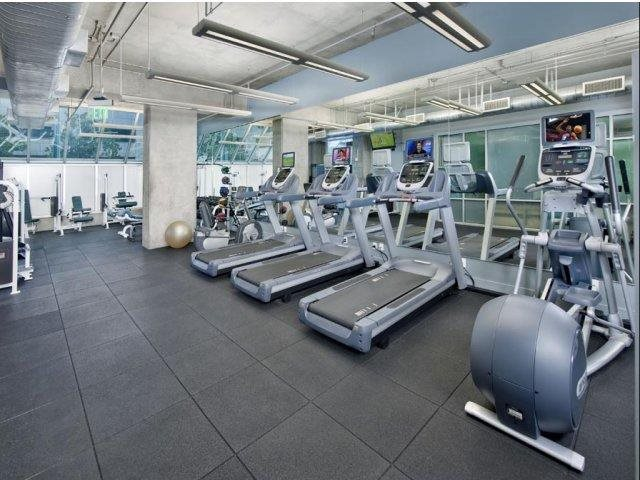 24-hour Fitness Center at Renaissance Tower, California, 90015
