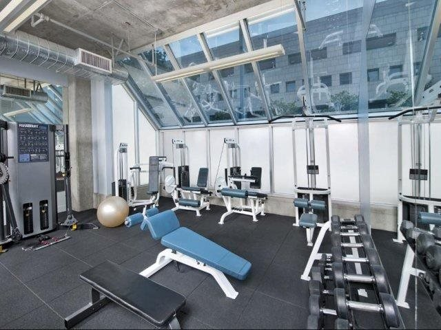 State-of-the-Art Fitness Equipment at Renaissance Tower, 501 W. Olympic Boulevard, Los Angeles, CA 90015
