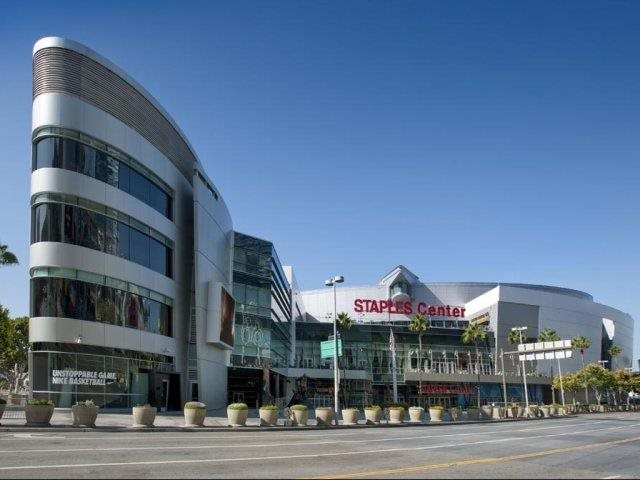 Watch Live Action Sports and Concerts at Staples Center Close By Renaissance Tower, 501 W. Olympic Boulevard, Los Angeles