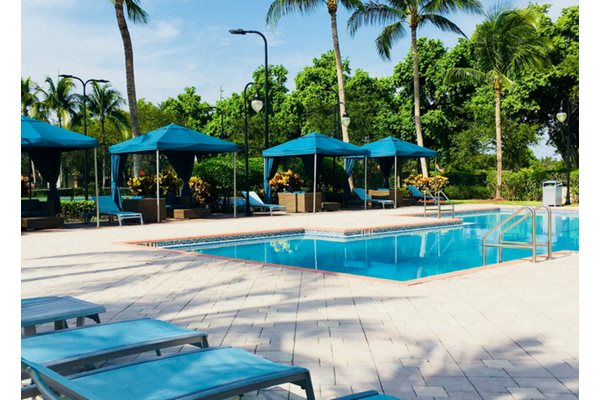 Sparkling Swimming Pool in Miramar, FL- Windsor at Miramar
