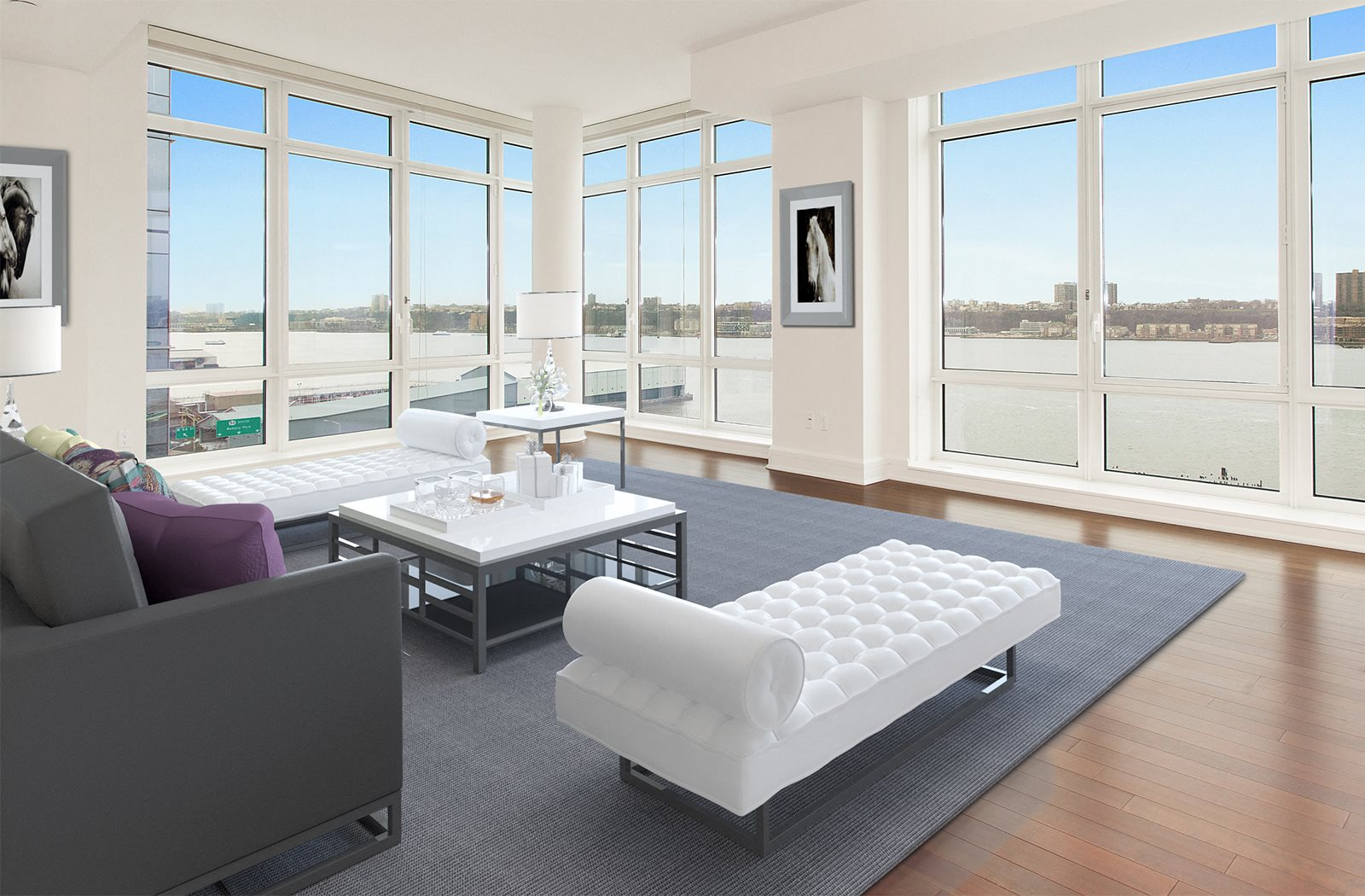 Oversize Windows with Plenty of Natural Light at The Aldyn, New York, NY, 10069