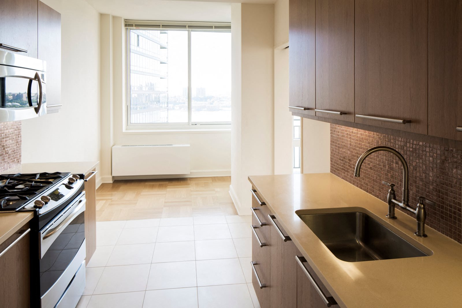 Spacious Kitchen with Pantry Cabinet at The Ashley Apartments, New York, NY