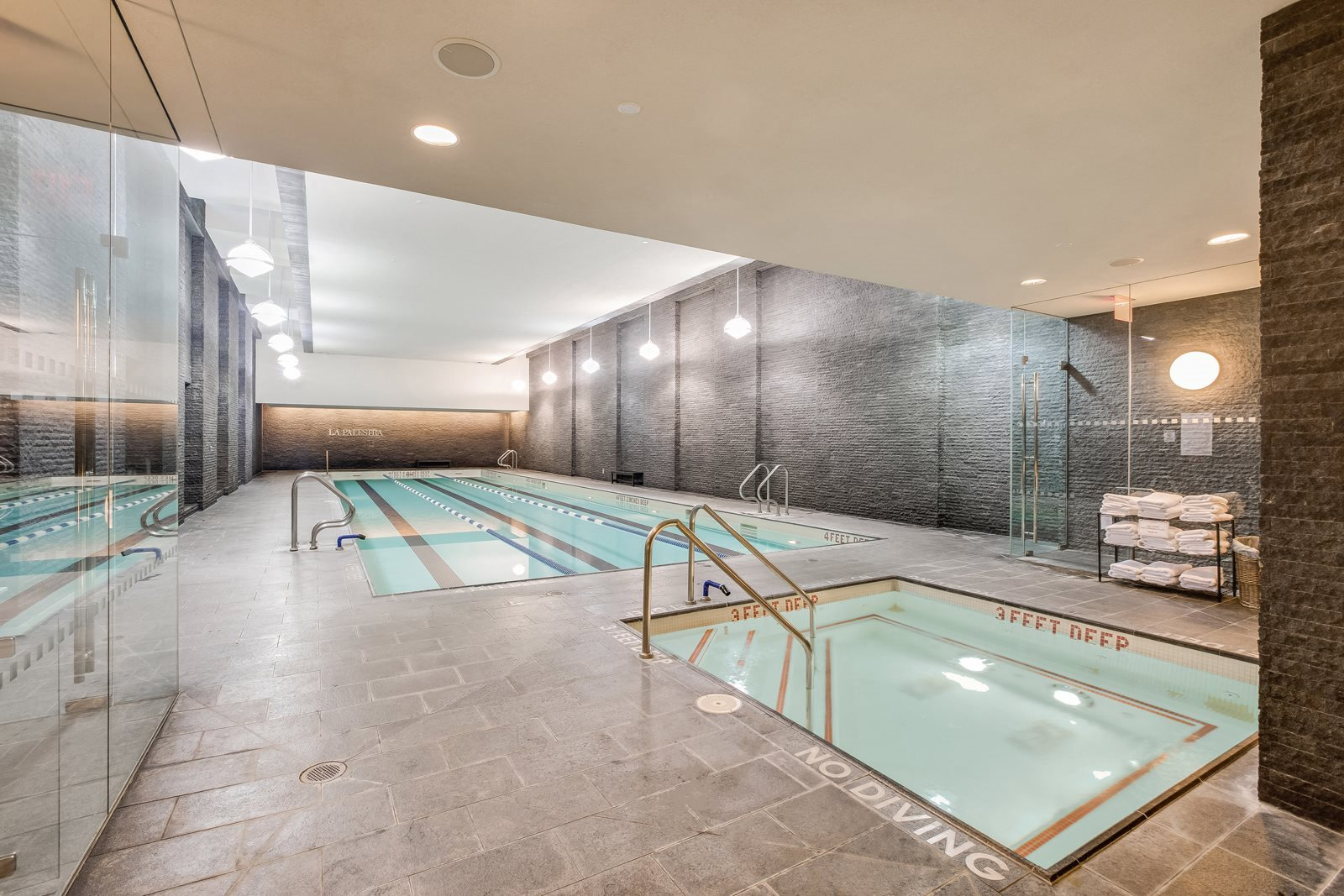 Resort-Inspired, Indoor Pool and Spa at The Ashley Apartments, 10069, NY