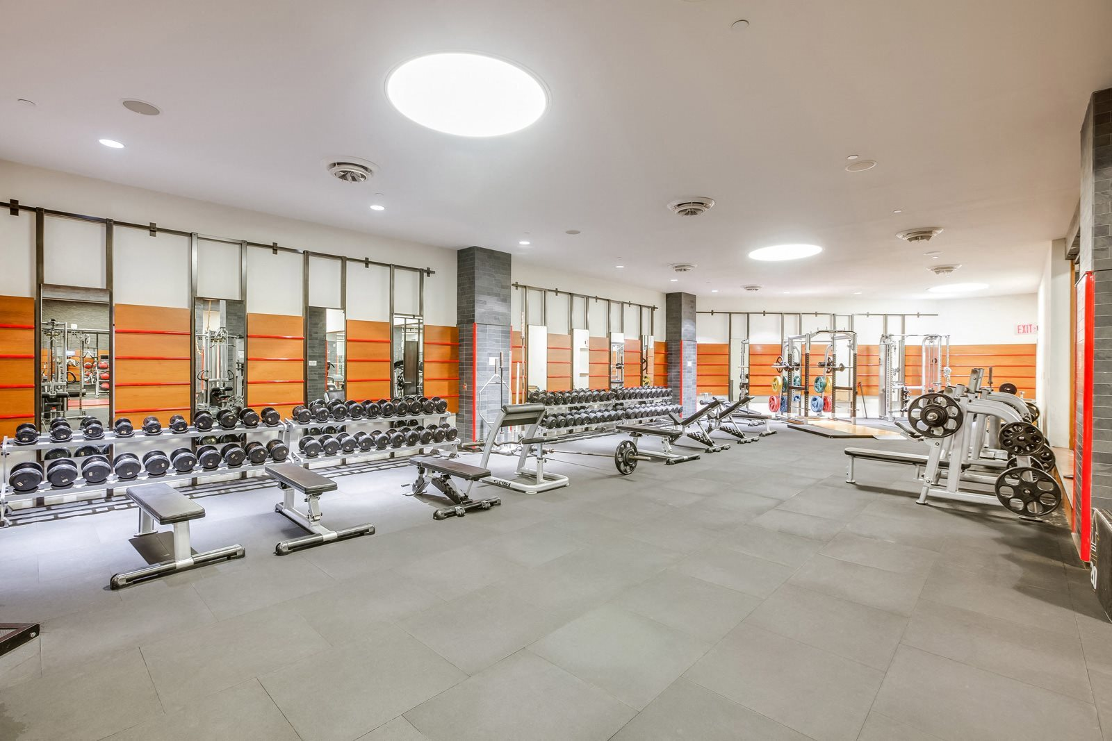 State-of-the-Art Fitness Center at The Ashley Apartments, New York, NY