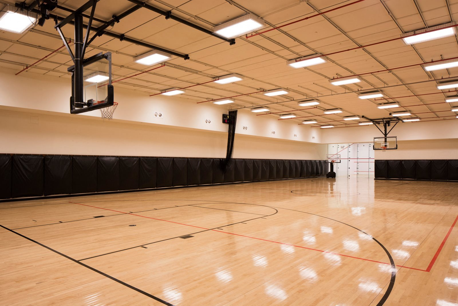 Indoor Basketball Court At The Ashley Upper West Side Apartments