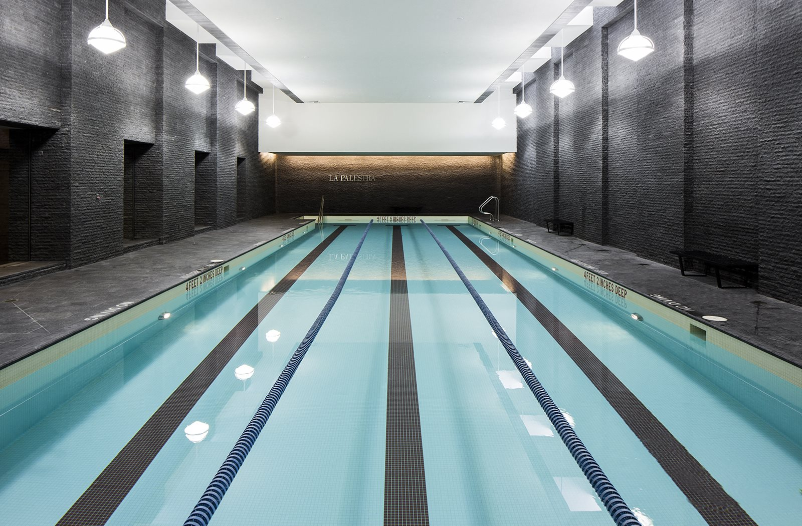 Indoor swimming pool at The Ashley, New York, NY, 10069