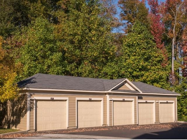 Private garages available.