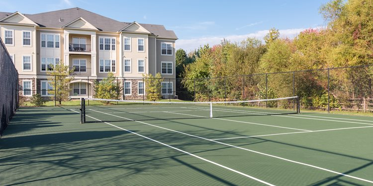 Synthetic Tennis Courts at Windsor at Harper